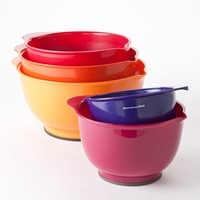 KitchenAid 5-pc. Multicolor Mixing Bowl Set