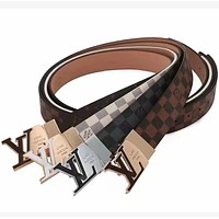 Louis Vuitton LV  leather belt