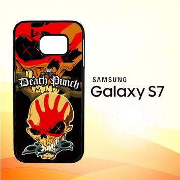 five finger death punch Z3324 Samsung Galaxy S7 Case
