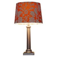 Threshold™ Flocked Floral Lamp Shade