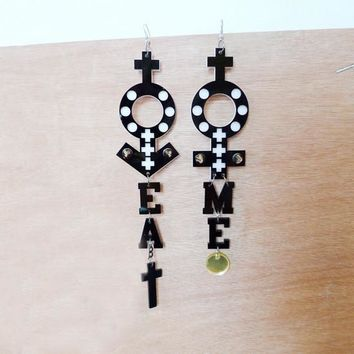 EAT ME EARRINGS