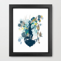le petit prince 2010 Framed Art Print by frederic levy-hadida | Society6