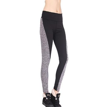 Women's Soft Mid-Waist Two-Tone Leggings