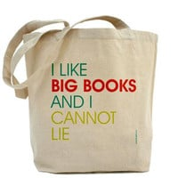 I Like Big Books And I Cannot Lie  Custom by PamelaFugateDesigns