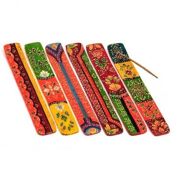 Painted Incense Burners