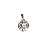 Spin Spin Sugar Record Sterling Silver Charm