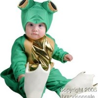 Unique Infant Baby Frog Animal Costume (6-18 Months)