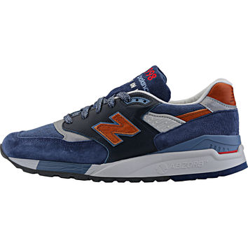 New Balance 998 Distinct Retro Ski - Blue Aster/Navy/Carmel