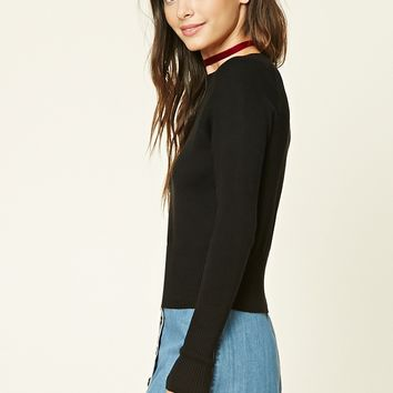 Knit Sweater Top