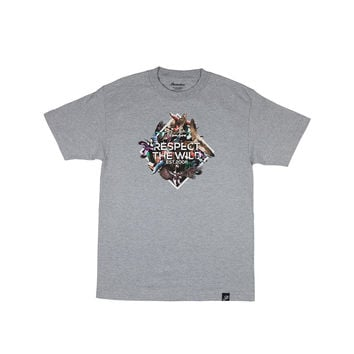 FEATHERS TEE - ATHLETIC-HEATHER
