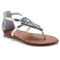 Unionbay Women's Embellished Thong Sandals