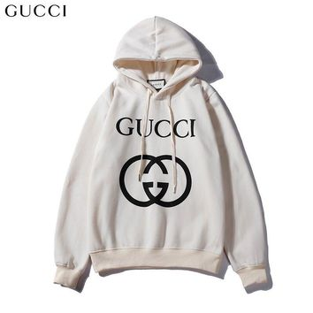 GUCCI Woman Fashion Print Top Sweater Pullover Hoodie