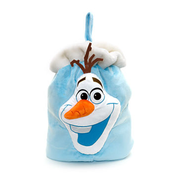 Disney Olaf Big Face Christmas Sack | Disney Store