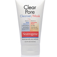 Clear Pore Cleanser/Mask | NEUTROGENA®