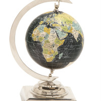 Benzara Captivating Aluminum PVC World Globe