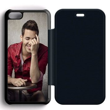 Prince Royce Cool Leather Wallet Flip Case iPhone 5C