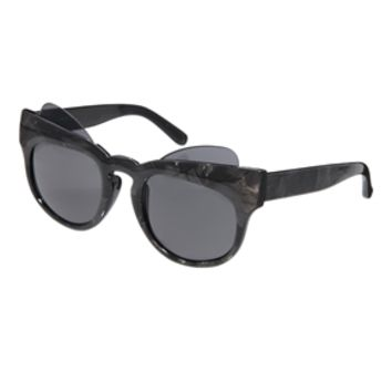 ASOS Cat Eye Sunglasses With Exposed Lens - Multi