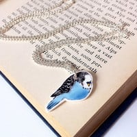 Budgie Necklace by laylaamber on Etsy