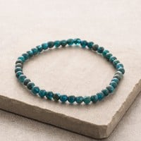 Apatite Mini Gemstone Energy Bracelet