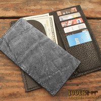 Elephant Gray Rodeo Wallet