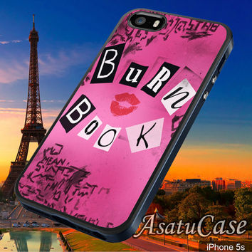 Burn Book Pink Cover - Samsung Galaxy S2/S3/S4,iPhone 4/4S,iPhone 5/5S,iPhone 5C,Rubber Case,Cell Phone,Case,Accessories - 030114/CA1