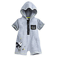 Mickey Mouse Layette Hooded Romper for Baby