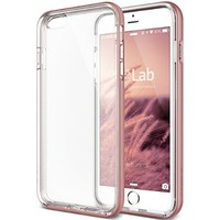 "iPhone 6S Case, Verus [Crystal Bumper][Rose Gold] - [Clear][Drop Protection][Heavy Duty][Minimalistic][Slim Fit] - For Apple iPhone 6 and iPhone 6S 4.7"" Devices"