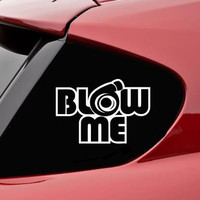 Blow Me Turbo JDM Decals - Custom Decals / Stickers For Cars