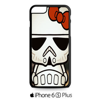 Hello Kitty Stormtrooper iPhone 6S  Plus  Case