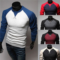 Korean Style Fashion Raglan Shirt SOS