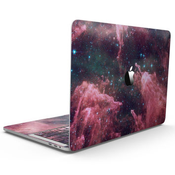 Crimson Nebula - MacBook Pro with Touch Bar Skin Kit