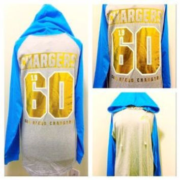 Victoria's Secret San Diego Chargers Hooded Shirt