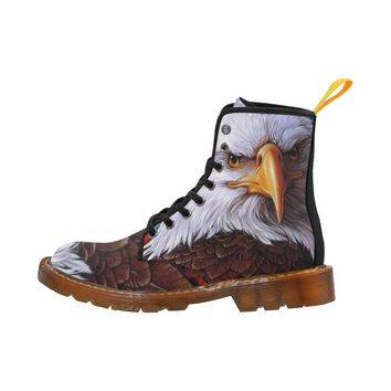 Eagle Lace Up Martin Boots for Women