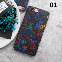 2017 New Flower Cactus 3D Relief Silicone Case For iphone 7 7plus for iphone 5s 5 SE 6 6s 6plus Case TPU Case Daisy Phone Case -0328
