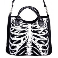 Banned Skeleton Ribs Handbag