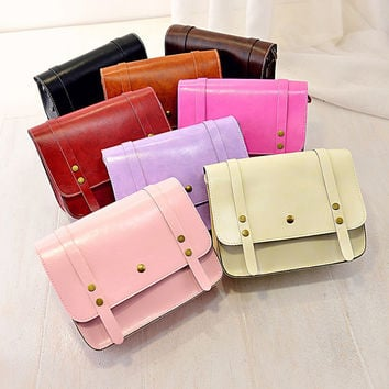 Summer Stylish One Shoulder Casual Bags Messenger Bags [6583114951]