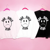 SAD GIRLS CLUB SWEATSHIRT