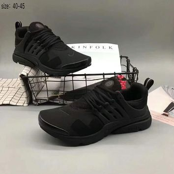 NIKE AIR presto Fashion Trending Running Sports Shoes Full black G-A36H-MY
