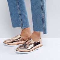 London Rebel Chunky Loafer at asos.com