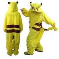NEW Japan Pokemon Pikachu Adult Cosplay Costume ALL SIZES