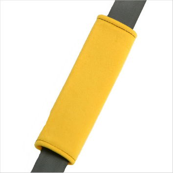 Yellow Seat Belt Shoulder Pad