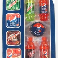 Lotta Luv Flavored Lip Balm Gift Set (Pepsi Bottle)