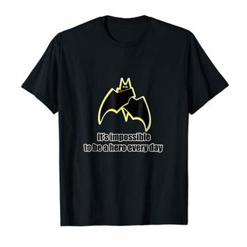 Funny Bat Hero T-shirt awesome Gift Tee