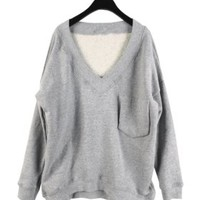 Sweater - V - Sweaters & Cardigans - Women - Modekungen | Clothing, Shoes and Accessories