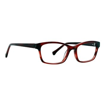 Trina Turk - Keegan 52mm Wine Eyeglasses / Demo Lenses