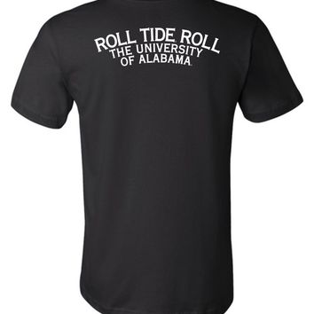 Official NCAA Venley University of Alabama Crimson Tide UA ROLL TIDE! Unisex T-Shirt - 35AL-5