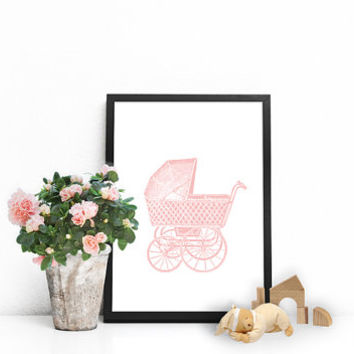 Baby artwork, Nursery artwork, Baby girl room decor, Baby girl room decorations Baby girl decorations, Baby poster PRINTABLE baby girl decor