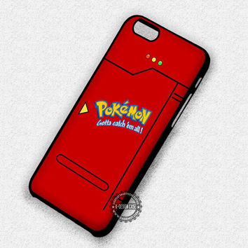 Pokemon Pokedex Anime Pokeball - iPhone 7 6 5 SE Cases & Covers