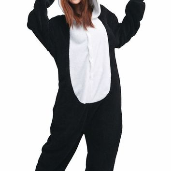 iNewbetter Sleepsuit Costume Cosplay Homewear Lounge Wear Kigurumi Onesuit Pajamas ,Panda ,S (150-159cm)