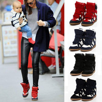 Women Boots Height Increasing Sneakers Shoes